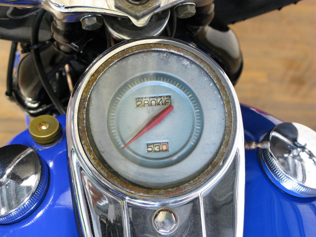 ハーレーダビッドソン 1948 FL 1200 車体写真12