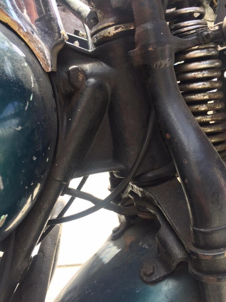 ハーレーダビッドソン 1948 U 1200 車体写真10