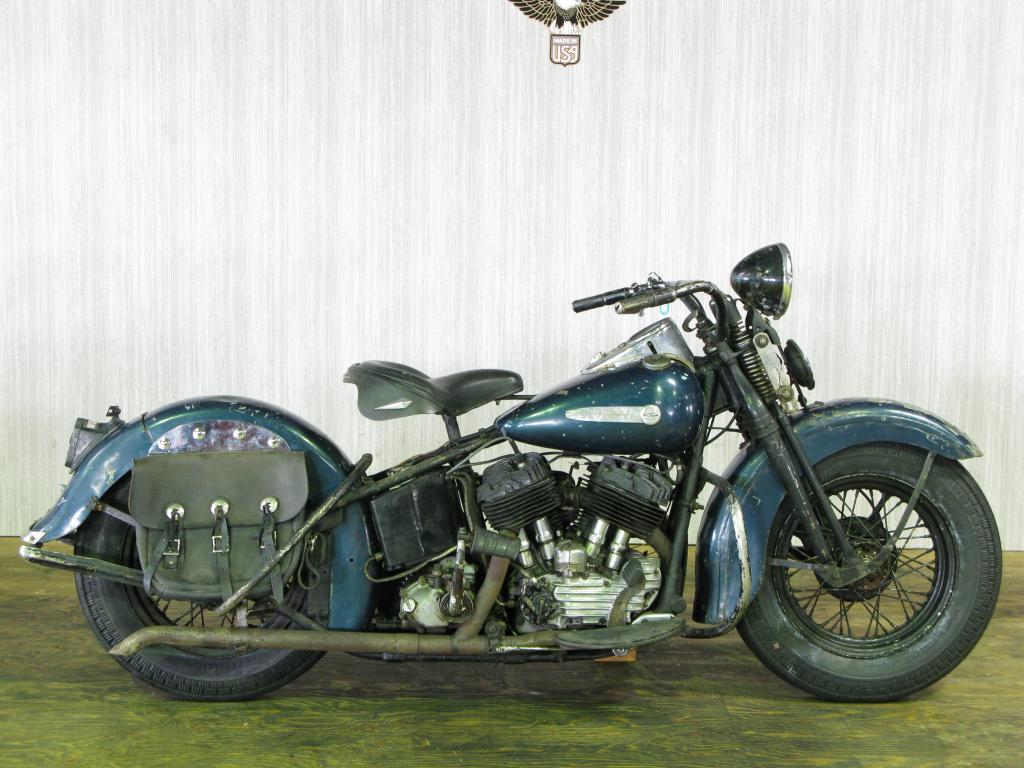 ハーレーダビッドソン 1948 U 1200 車体写真1
