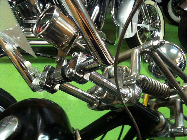 ハーレー EL Rigid chopper pan 車体写真8