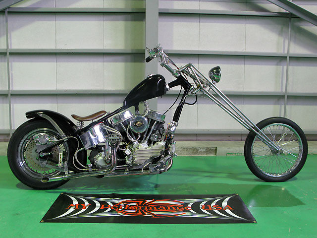 ハーレー EL Rigid chopper pan 車体写真1