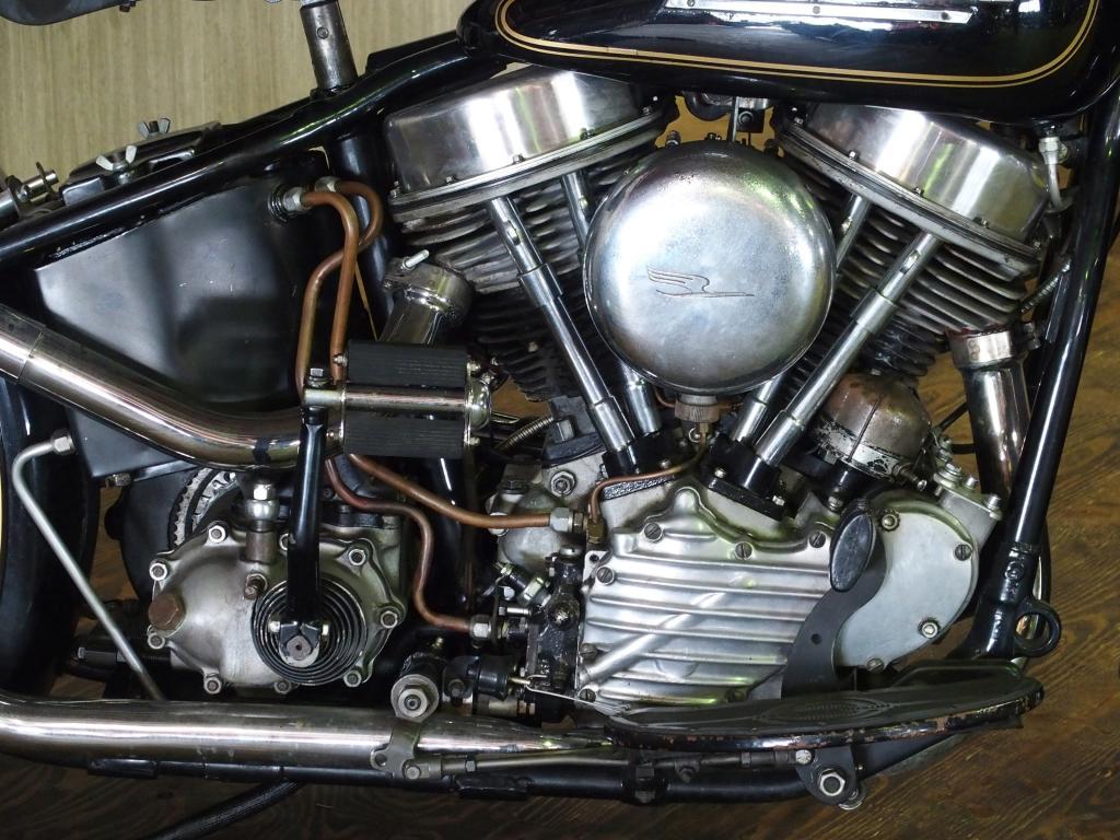 ハーレーダビッドソン 1949 FL 1200 Custom 車体写真7