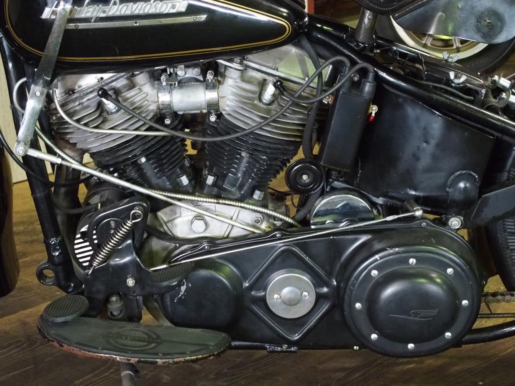 ハーレーダビッドソン 1949 FL 1200 Custom 車体写真8