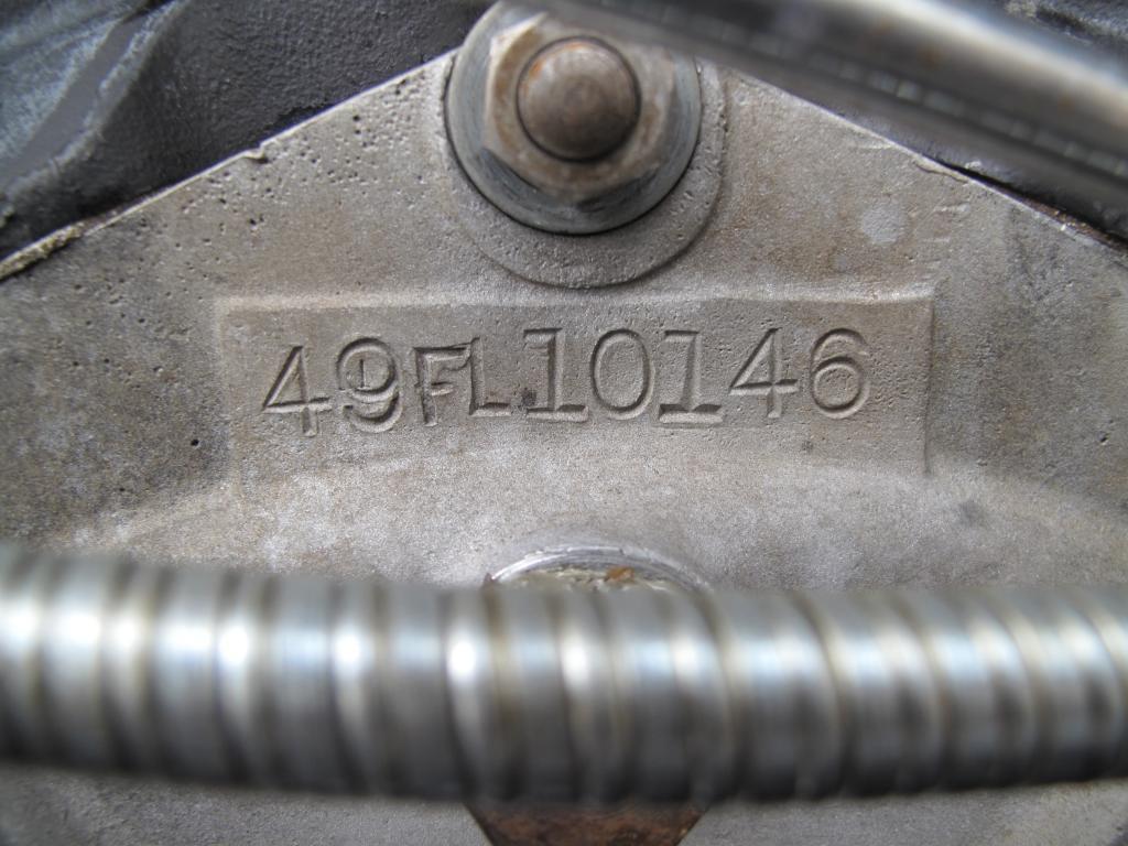 ハーレーダビッドソン 1949 FL 1200 車体写真11