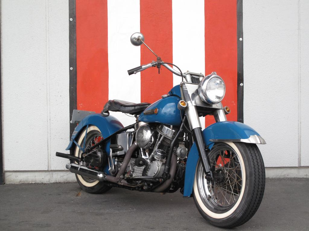 ハーレーダビッドソン 1949 FL 1200 車体写真2