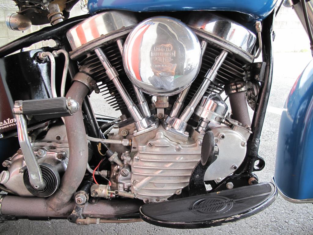 ハーレーダビッドソン 1949 FL 1200 車体写真7