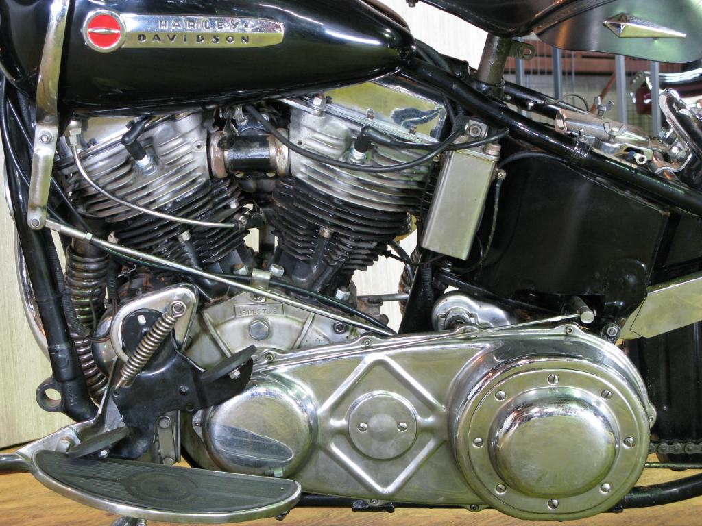 ハーレーダビッドソン 1949 FL 1200 車体写真8