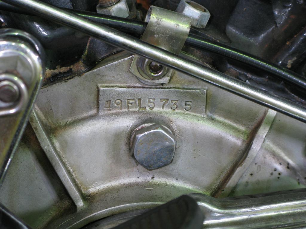 ハーレーダビッドソン 1949 FL 1200 車体写真9