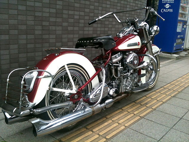 ハーレー FL Hydra Glide pan head 車体写真4