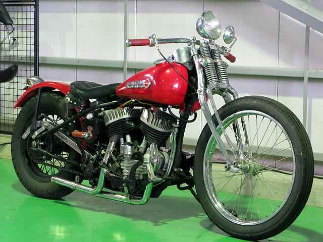 ハーレーダビッドソン 1949 WL 車体写真2