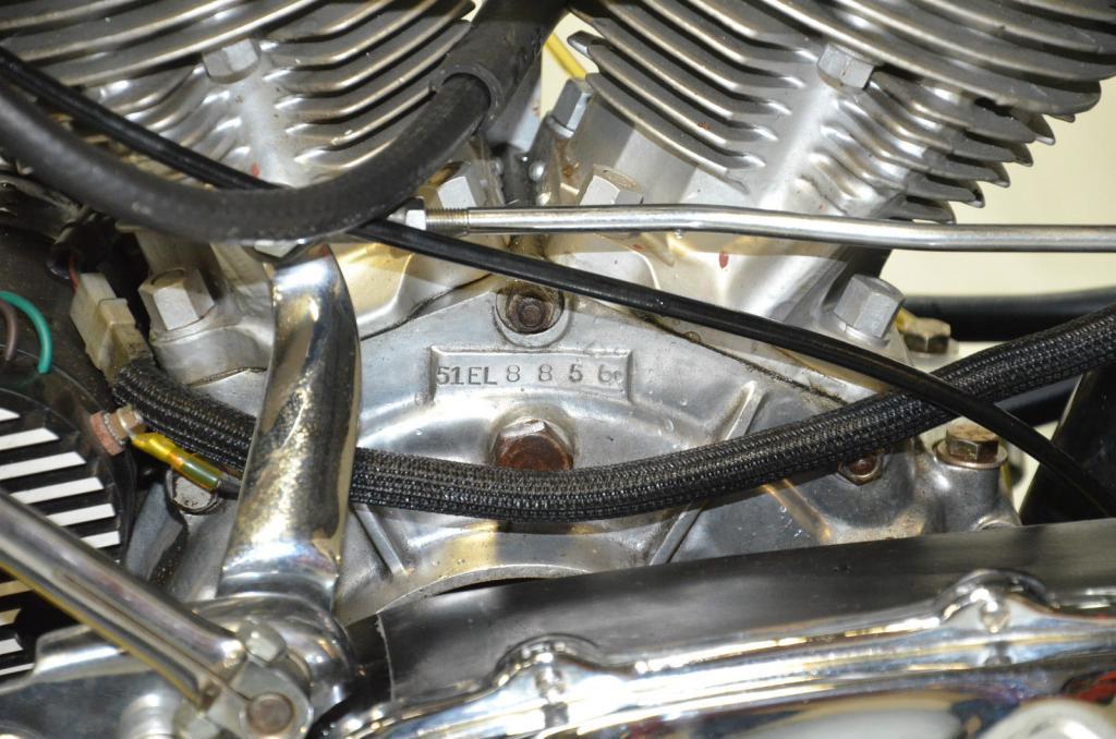 ハーレーダビッドソン 1951 EL 1000 車体写真10