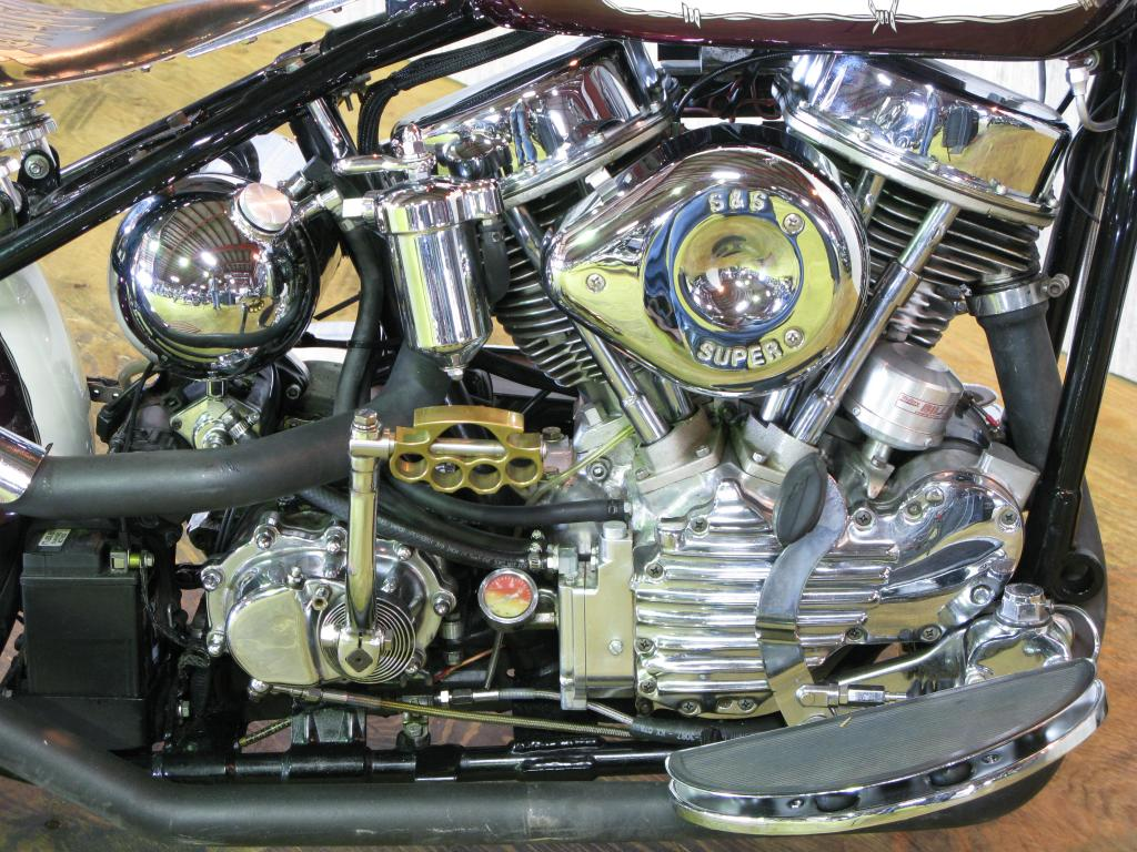 ハーレーダビッドソン 1951 EL 1000 車体写真7