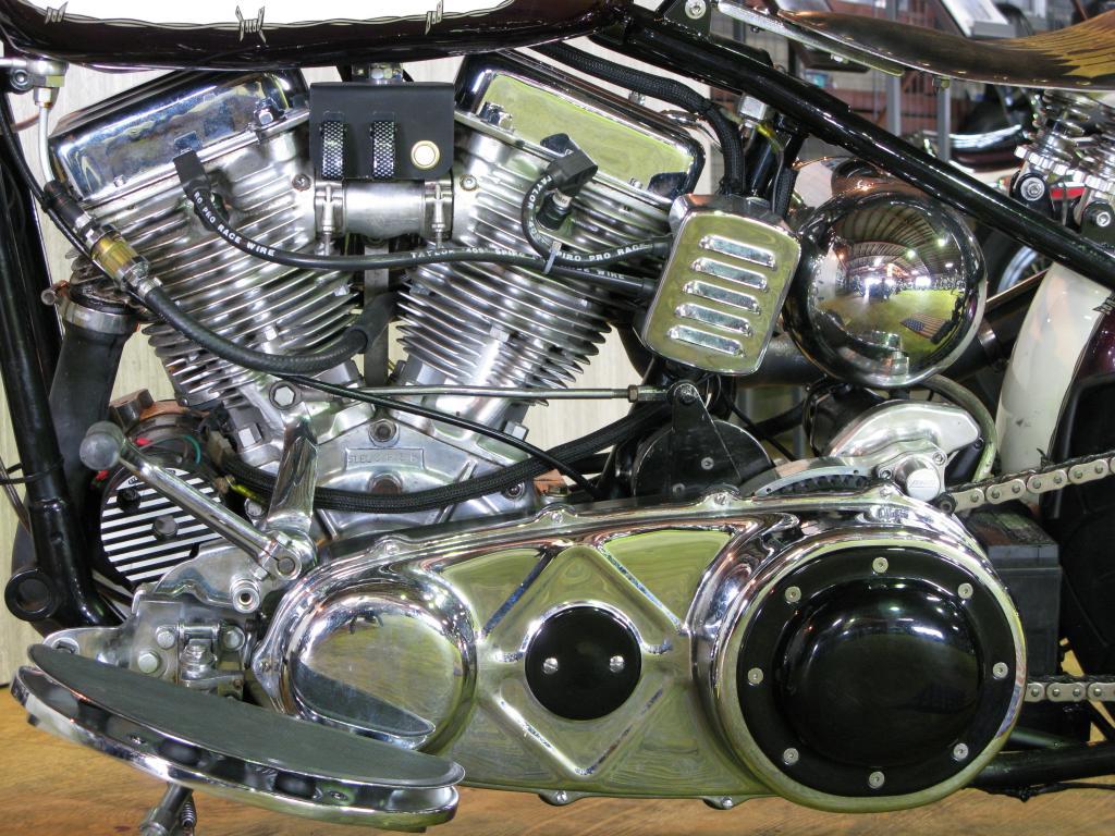 ハーレーダビッドソン 1951 EL 1000 車体写真8