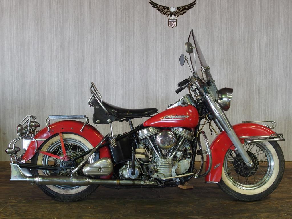 ハーレーダビッドソン 1951 EL 1000 車体写真1