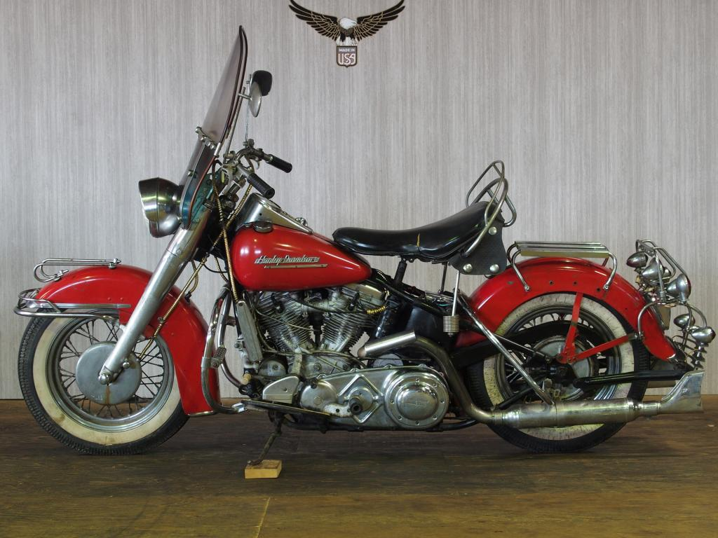 ハーレーダビッドソン 1951 EL 1000 車体写真4