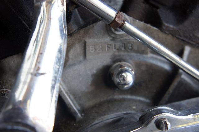 ハーレーダビッドソン 1952 FL 1200 Panhead 車体写真10
