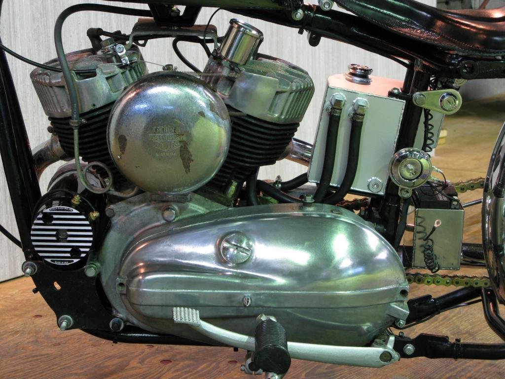 ハーレーダビッドソン 1952 K Sport Star 車体写真8