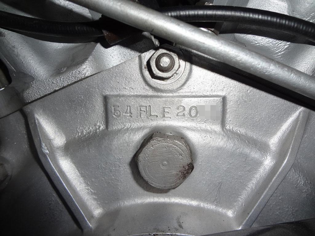 ハーレーダビッドソン 1954 FLE 車体写真10