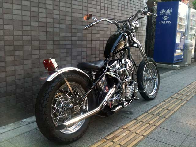 ハーレー FL Rigid pan chopper 車体写真4