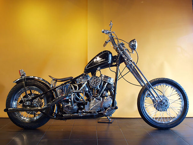 ハーレー FL Rigid pan chopper 車体写真1