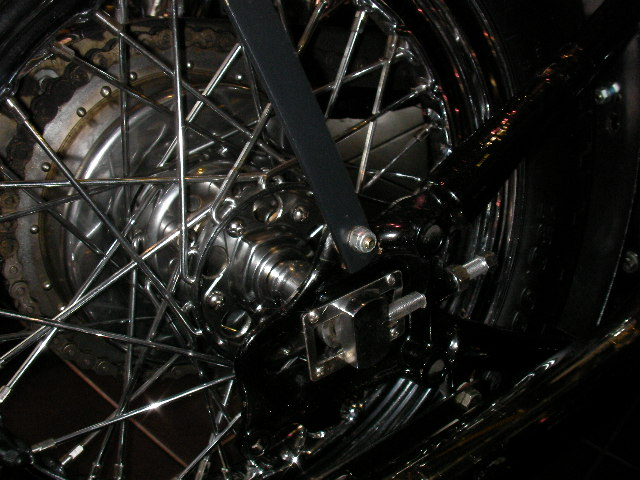 ハーレー FL Rigid pan chopper 車体写真12