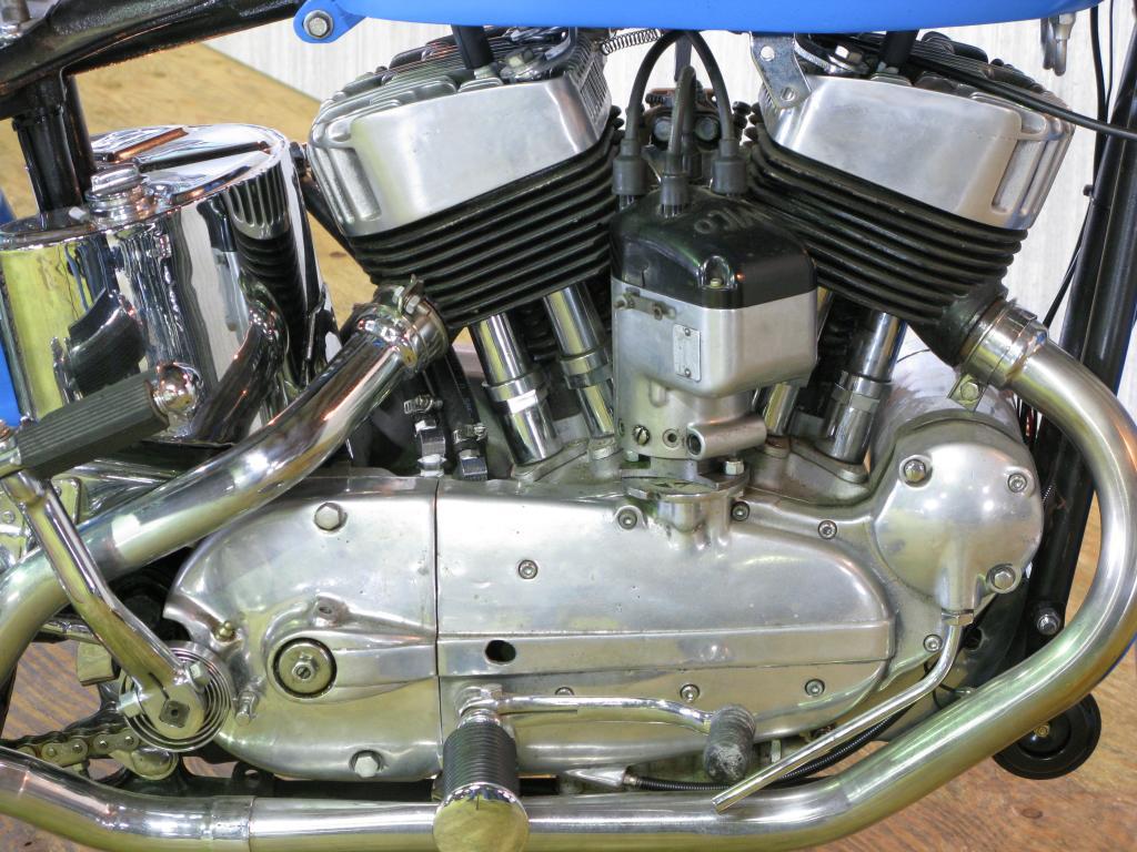 ハーレーダビッドソン 1954 KHRM 車体写真7