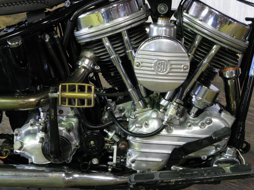 ハーレーダビッドソン 1955 FL 1200 Custom 車体写真7
