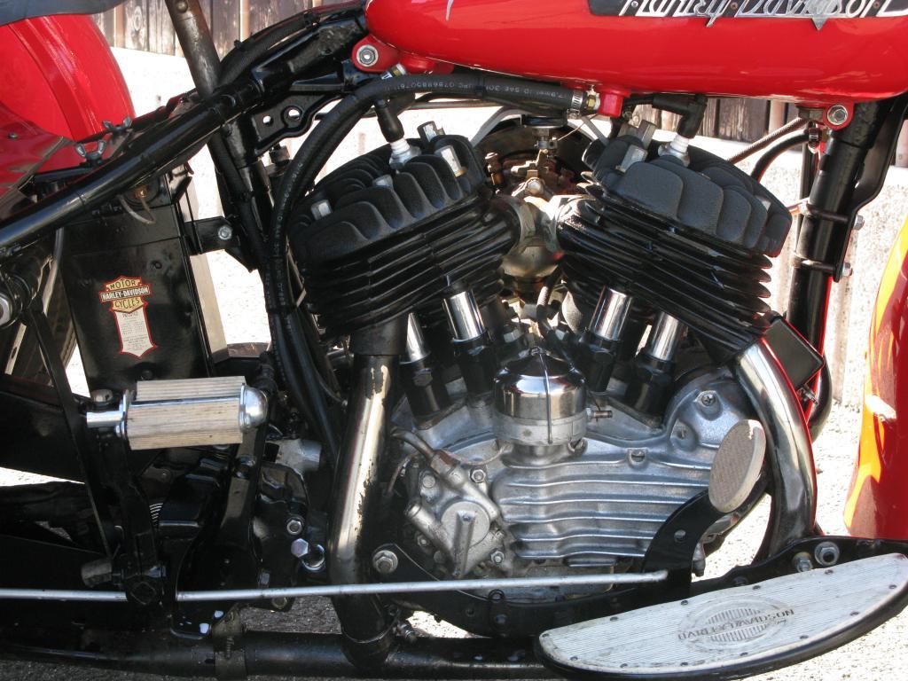 ハーレーダビッドソン 1955 G ServiceCar Trike 車体写真7