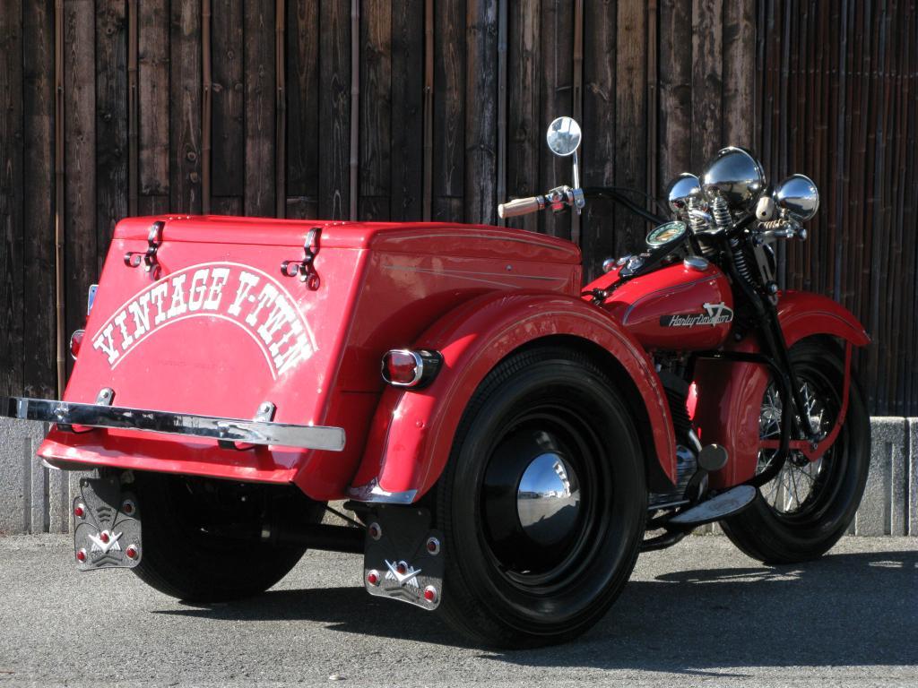 ハーレーダビッドソン 1955 G ServiceCar Trike 車体写真3