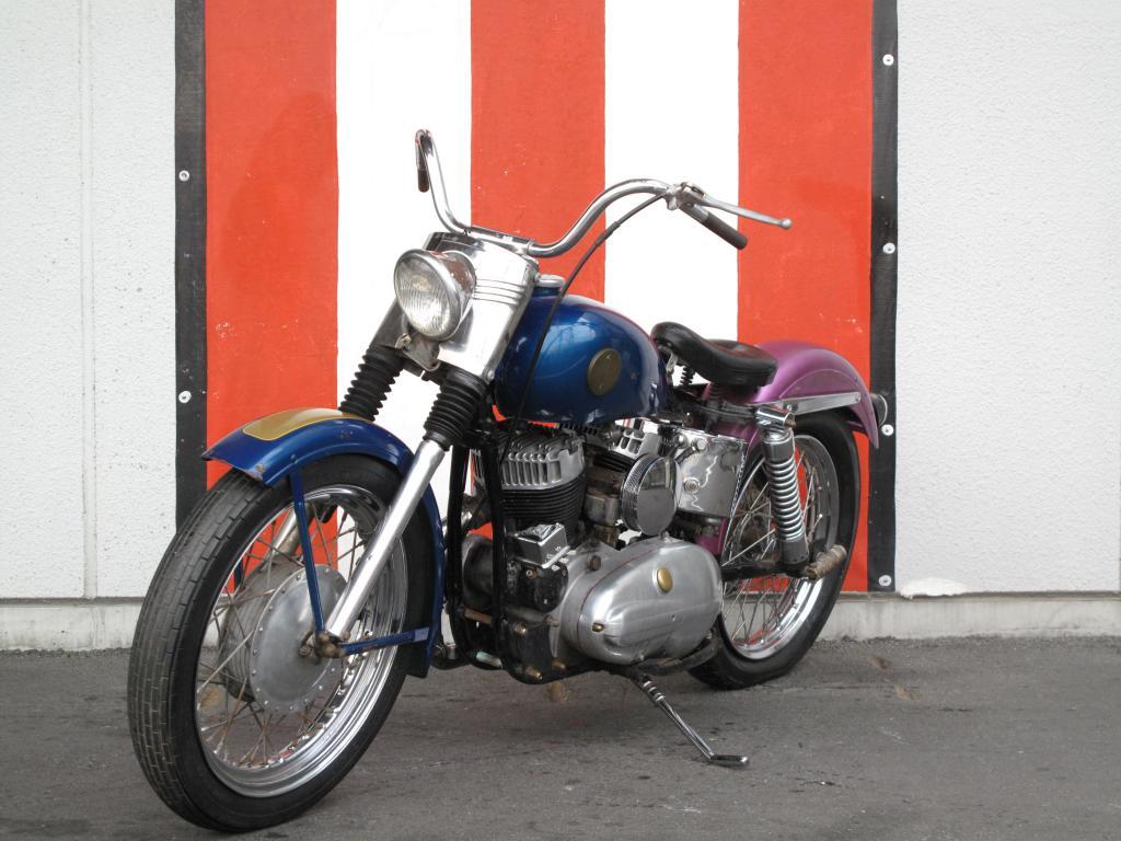 ハーレーダビッドソン 1956 KHK 車体写真5