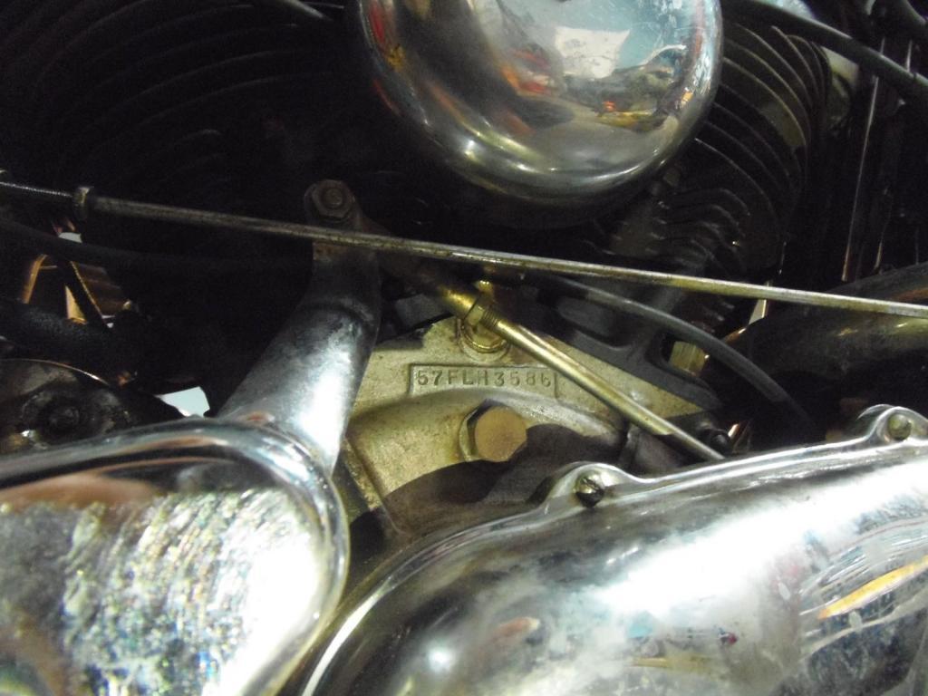 ハーレーダビッドソン 1957 FLH 1200 Hydra Glide 車体写真12