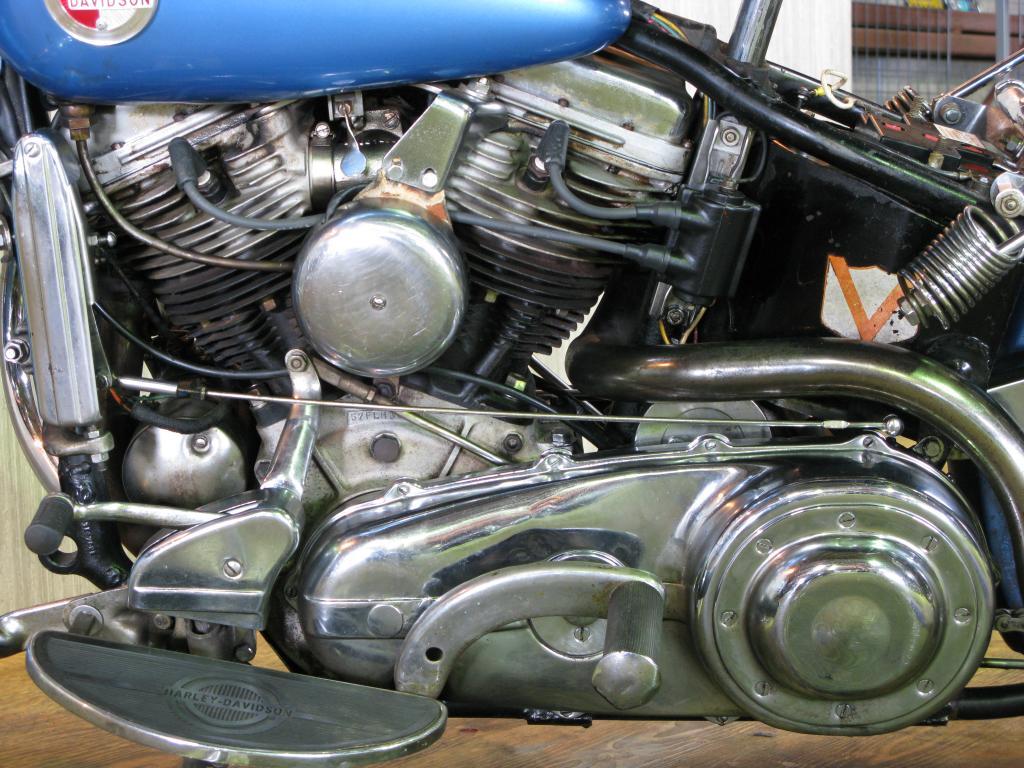 ハーレーダビッドソン 1957 FLH 1200 Hydra Glide 車体写真8