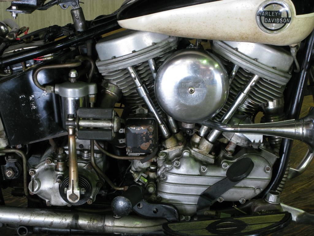ハーレーダビッドソン 1958 FLH 車体写真7