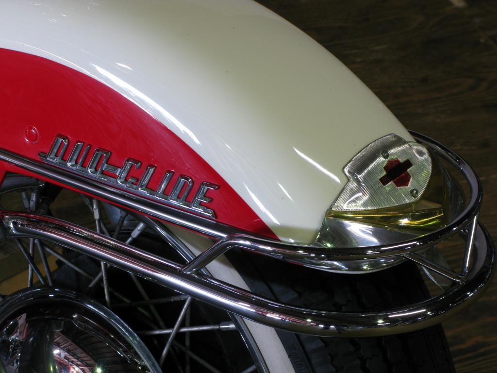ハーレーダビッドソン 1958 FLH Duo Glide 車体写真10