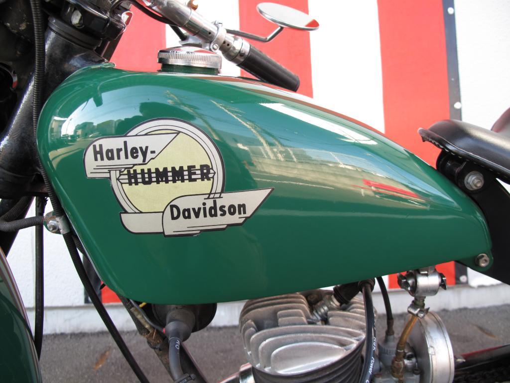 ハーレーダビッドソン 1958 HUMMER Model-B 車体写真11