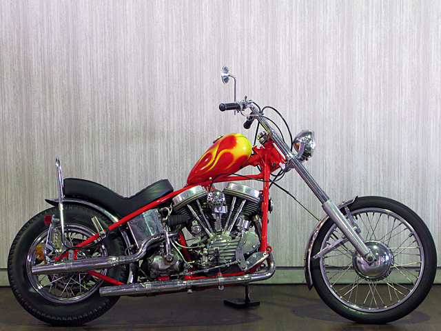 ハーレー FL Billy Replica Chopper 車体写真1