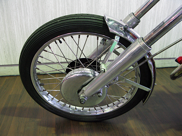ハーレー FL Billy Replica Chopper 車体写真10