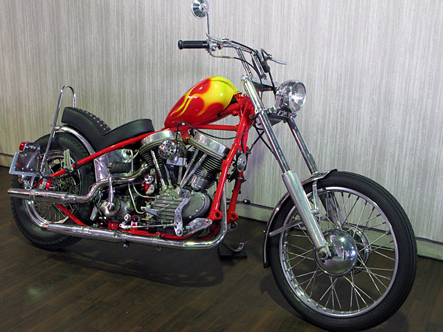 ハーレー FL Billy Replica Chopper 車体写真3