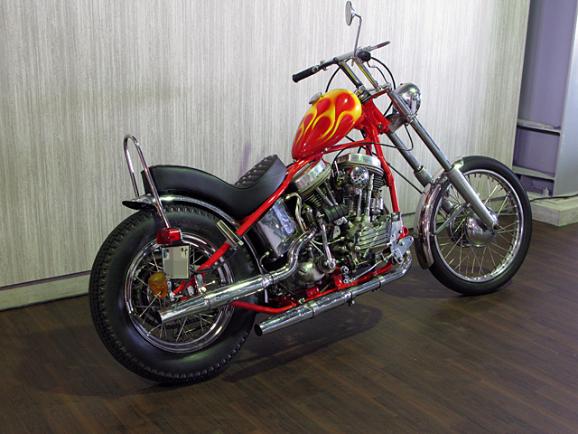 ハーレー FL Billy Replica Chopper 車体写真4