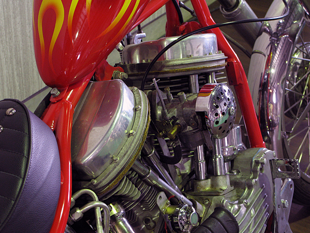 ハーレー FL Billy Replica Chopper 車体写真5