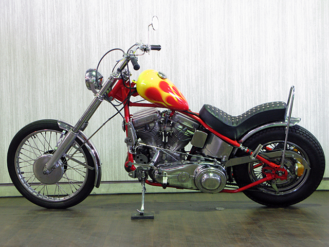 ハーレー FL Billy Replica Chopper 車体写真6