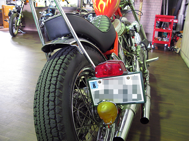 ハーレー FL Billy Replica Chopper 車体写真8