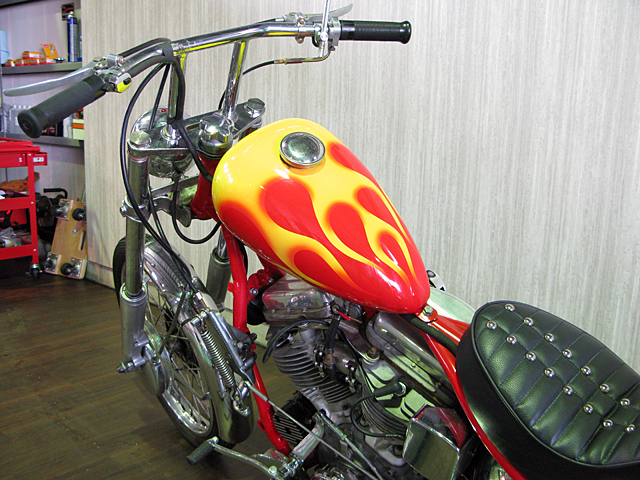 ハーレー FL Billy Replica Chopper 車体写真9