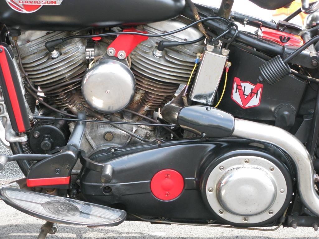 ハーレーダビッドソン 1959 FLH 車体写真8