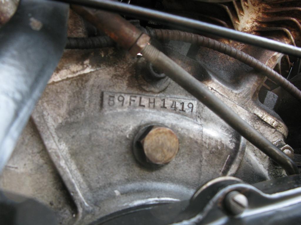 ハーレーダビッドソン 1959 FLH 車体写真10