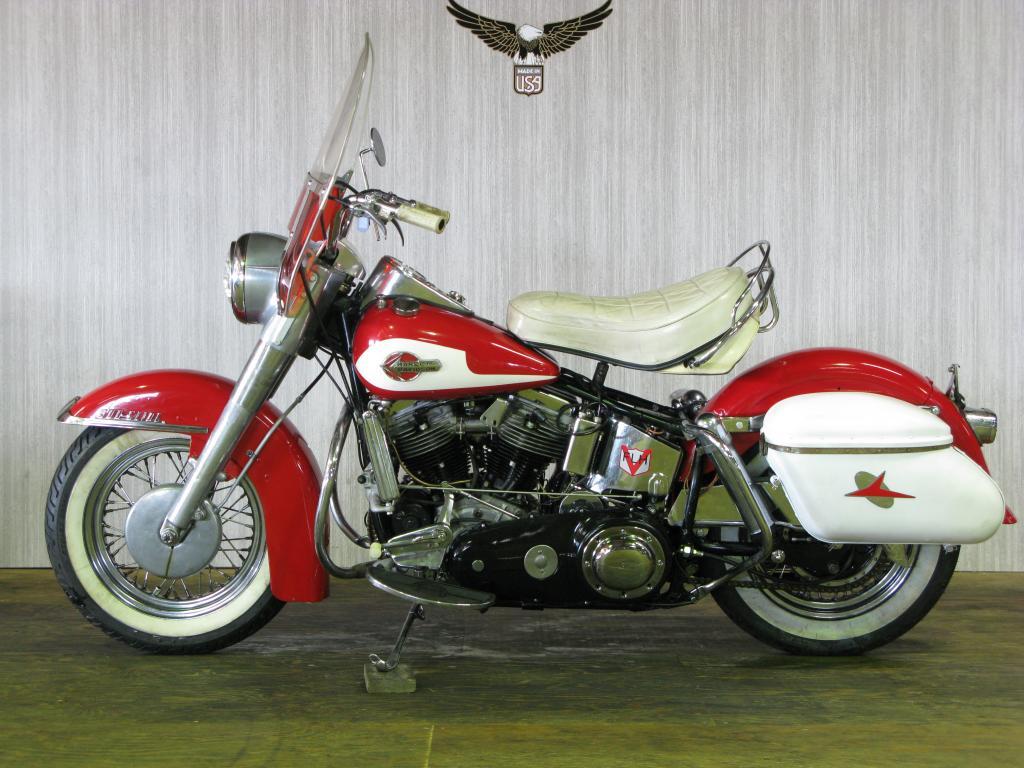 ハーレーダビッドソン 1960 FLH Duo Glide 車体写真4