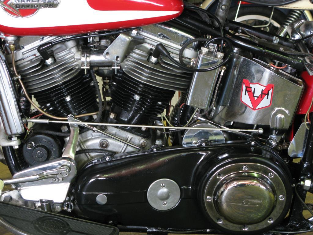 ハーレーダビッドソン 1960 FLH Duo Glide 車体写真8
