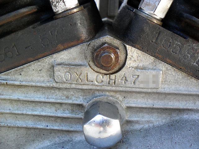 ハーレーダビッドソン 1960 XLCH 車体写真11
