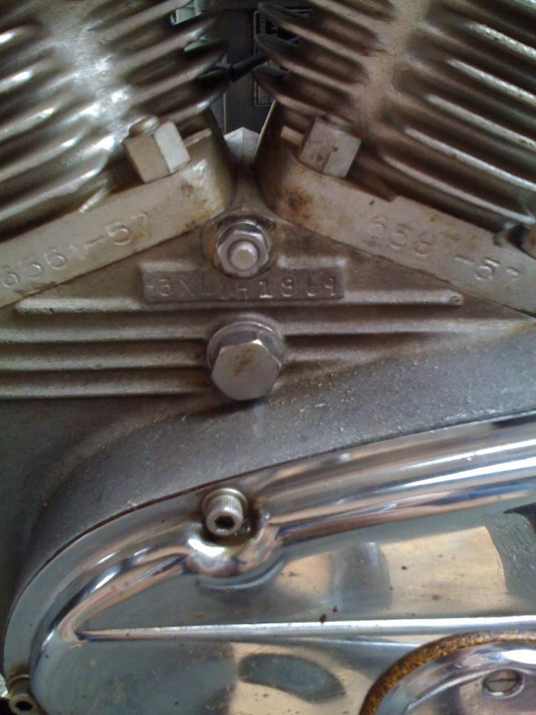 ハーレーダビッドソン 1963 XLCH 900 車体写真10