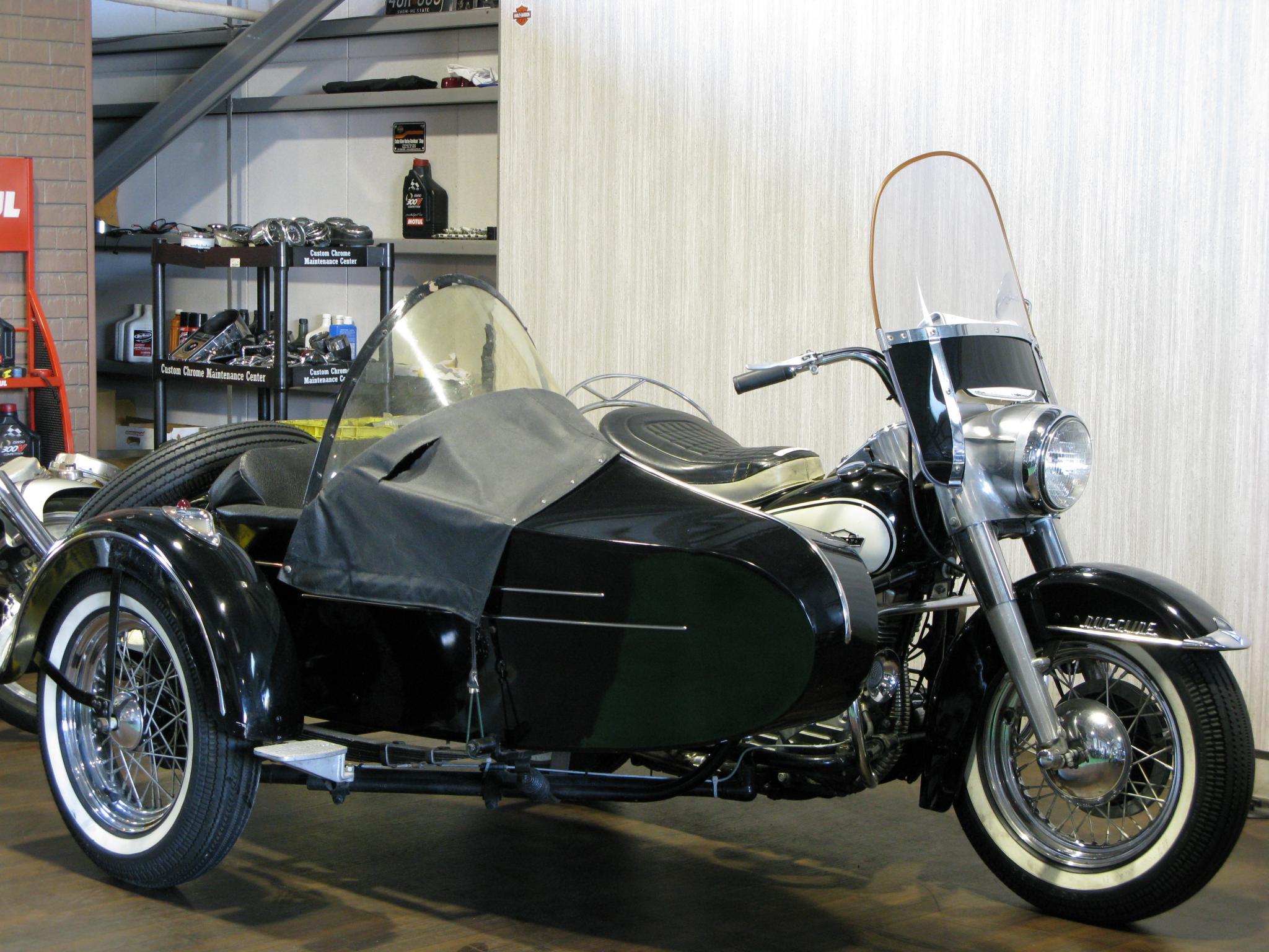 ハーレーダビッドソン 1964 FLH Duo Glide SC 車体写真1